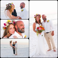 destin wedding officiant, grayton beach state park wedding