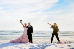 wedding officiant henderson beach state park
