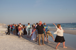 destin beach wedding